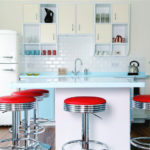 Retro kitchen - a selection of the most stylish interiors